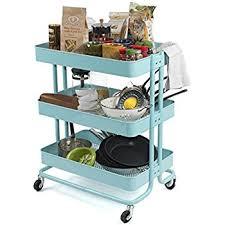 amazon com raskog home kitchen bedroom storage utility cart