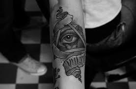 triangle eye tattoomagz