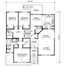 4 level split house warm bi level house plans narrow lot 5 split home plan for home act