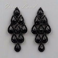 Chandelier Earrings Unique Chandelier Earrings Black Chandelier Earrings Trulagreen Com
