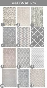 Area Rugs Gray 24 Grey Rug Options Grey Rugs Gray And Living Rooms