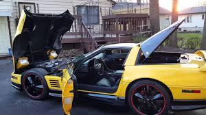 1987 greenwood corvette 1992 yellow corvette greenwood pkg 20 foose wheels