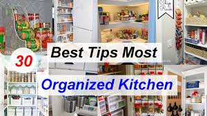 30 best tips most organized kitchen youtube