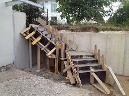 treppe betonieren hangsicherung und betontreppe hausbau ein baublog
