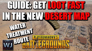 pubg quick loot guide how to get loot fast in the new desert map of pubg 1
