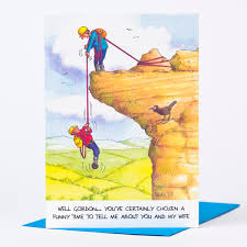birthday card rock climbing only 1 39