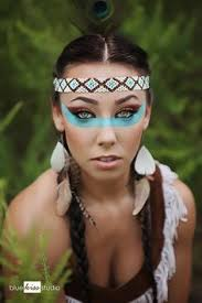 Halloween Costumes Indians American Indian Beauty Movie Special Effects Makeup