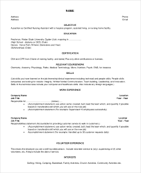 Example Career Objectives For Resume by Objective Resume Examples