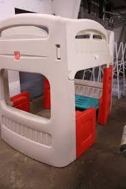 Plastic Bunk Beds Lot 772 Play Step 2 Bunk Bed Desk Step 2 Bunk Bed Desk Intersafe