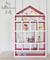 ana white dollhouse wall shelf diy projects