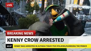 Crow Meme - miraculous maku on twitter breaking news kenny crow was arrested