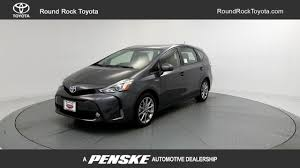 2017 new toyota prius v five at round rock toyota serving austin