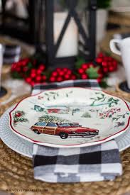 better homes and gardens christmas decorations vintage christmas table setting honeybear lane