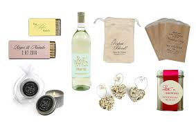 ideas for wedding favors top 10 best personalized wedding favor ideas