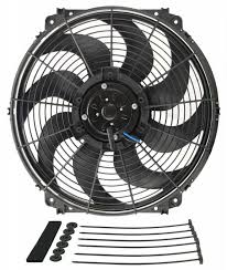 5000 cfm radiator fan derale performance products 16616 derale 16 tornado electric fan