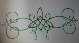 celtic knot tattoo design for my baby sister by