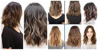 textured long bob hairstyle for women man