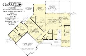 cottage house floor plans springs cottage house plan gable house plans by garrell