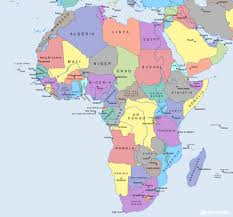 africa map 54 countries how many countries in africa the exact number africanism