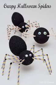 Halloween Spider Crafts by Creepy Halloween Spider Craft