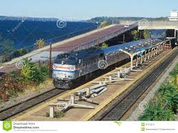 New York Amtrak Stations Map by An Amtrak Train Station Along The Hudson River Scenic Route 9g