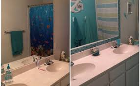 Bathroom Mirror Frame by Frame A Mirror With Moulding And Tiles Hometalk