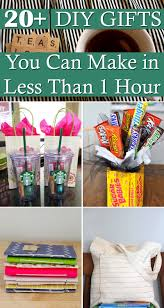 20 diy gifts you can make in less than 1 hour gift craft and diys