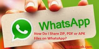 watsapp apk file how do i zip pdf or apk files on whatsapp computer freaks