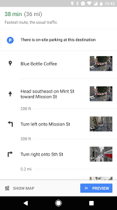 Create A Route On Google Maps by Google Maps For Android Now Uses Street View For Directions