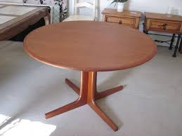 Teak Dining Room Furniture by Valuable Inspiration Round Teak Dining Table All Dining Room