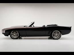 1960 camaro convertible 1969 chevrolet camaro convertible supercar by modern side