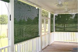 Outside Blinds And Awnings Basswood Roll Up Woven Wood Shades For Porch