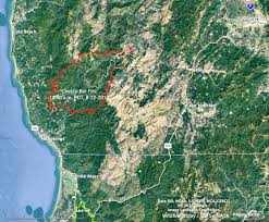a map of oregon fires chetco bar in oregon quadruples in four days approaches