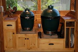 Green Egg Kitchen - outdoor kitchen screen porch done pic hvy u2014 big green egg