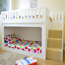 Bunk Bed With Steps Kids Beds Bunk Beds By Kids Funtime Beds