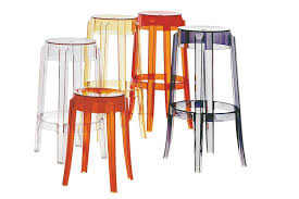 ghost stools replica philippe starck charles ghost bar stool