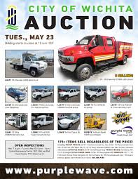 sold may 23 city of wichita auction purplewave inc