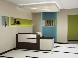 Funky Reception Desks Small Area Furniture Office Reception Design Ideas Modern