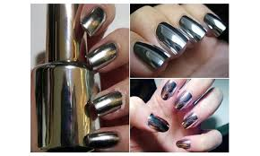 mirror effect nail polish groupon