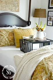 How To Make A Bed Like A Pro Yellow Bedroom Interior Design Pretty Stunning Bed Grey Yellow