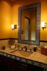 spanish tile bathroom ideas the 25 best mediterranean style bathroom mirrors ideas on