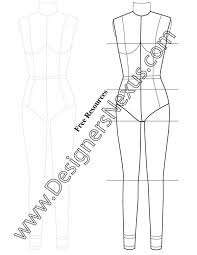 9 best technical drawing fashion figure templates images on