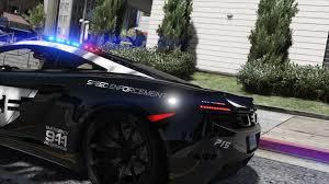 police mclaren mclaren mp4 12c pursuit police add on replace template