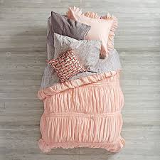 modern chic bedding pink the land of nod