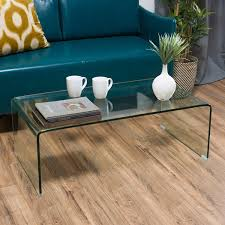 Small Coffee Tables by Amazon Com Classon Glass Rectangle Coffee Table Kitchen U0026 Dining