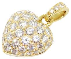 cartier heart diamond necklace images Cartier charms up to 90 off at tradesy jpg