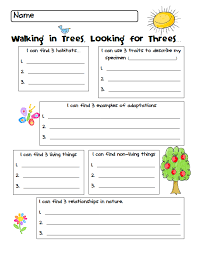 our cool nature walk freebie clip art library