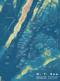 Metro New York Map by Map Which Nyc Neighborhoods Will Be Underwater In The Future