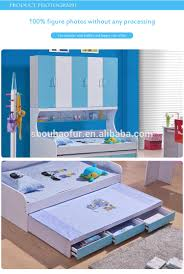 Cartoon Bunk Bed by 120 190cm Wall Bunk Bed Triple Bunk Bed For Kids 8201 Buy Wall
