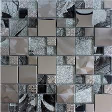 Steel Tile Backsplash by 28 Best Material Mosaic Images On Pinterest Kitchen Backsplash